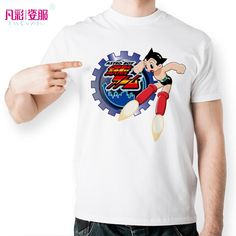 Cool Astro Boy Gear T Shirt Design Inspired By Japanese Anime T-shirt Fashion Funny Tshirt Men Women Printed Casual Novelty Tee #Affiliate