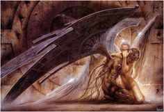 Gothic Angel by Luis Royo