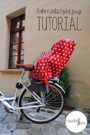 Rosalie&me: Schnitt für Schnitt #1: Einen Fahrradsitzbezug nähen