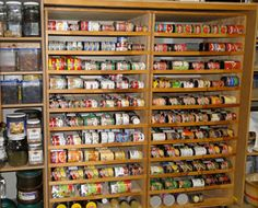 Interesting Article On Setting Up A Kitchen Pantry / Food Storage System  That Can Keep You