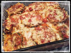 Skinny Gal Somewhere: Skinny Zucchini Parmesan