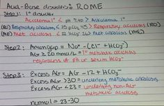 3 steps: ROME, calculate AG, find excess AG.