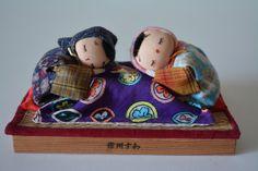 Vintage Japanese folk craft dolls, traditonal mingei ningyo by StyledinJapan on Etsy