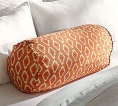 moracan bolster pillow | Diamond Ikat Bolster Pillow Cover $33
