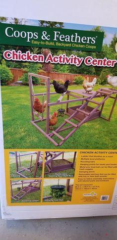 Chicken activity centre #chickencooptips