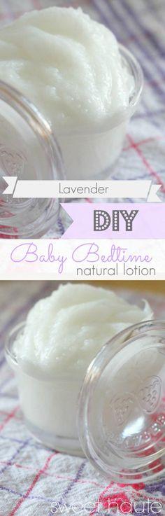 Lavender Baby Bedtime Organic Lotion- SWEET HAUTE