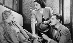 Delightfully British ... Dame May Whitty, Margaret Lockwood and Michael Redgrave in The Lady Vanishes (1938). Photograph: Moviestore Collect...