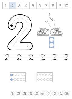 1 İle 5 Arası Sayılar Çizgi Çalışma Sayfası - Okul Öncesi Etkinlik Faliyetleri - Madamteacher.com