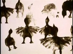 The Owl Who Married A Goose (NFBC, 1974, 7 min) Directed by Caroline Leaf . Animation with sand