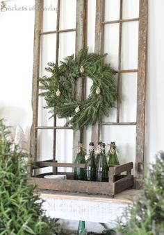 Buckets of Burlap: Christmas Home Tour- Part Two