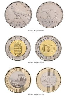 Present coins of Hungary, 100 and 200 Forint Coins Hungary History, Family Roots, Budapest Hungary, My Heritage, Future Travel, World Traveler, Coins, Country, Hunky Dory