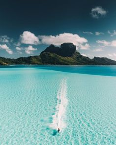 - don't let anyone know - Bora Bora, French Polynesia by robstrok nature 自然 Vacation Places, Dream Vacations, Vacation Spots, Places To Travel, Places To See, Travel Destinations, Italy Vacation, Romantic Vacations, Vacation Mood