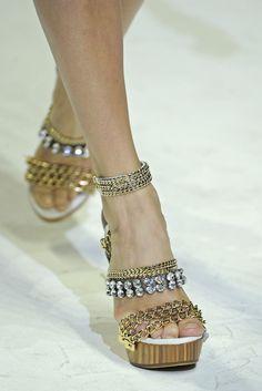 Those are pretty crazy! :) Dolce & Gabbana Spring 2011 rtw