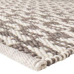 Nate Berkus™ Hand Woven Area Rug - Gray/Ivory (5'x7') $129.99 IN STORE
