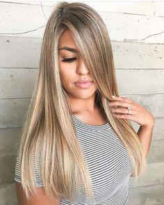 Dark blonde with sandy highlights