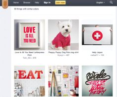 Pinterest Rival The Fancy... What is she up to??  http://techcrunch.com/2012/04/23/pinterest-rival-fancy-gets-fancier-with-match-by-color-visual-search/