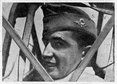 Fiatal magyar pilóta.