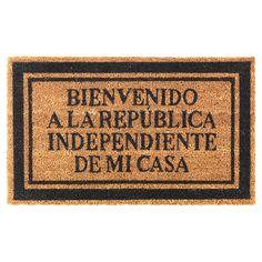URLEV  Felpudo, negro (Castellano)