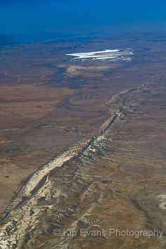 San Andreas Fault, CA  Kinda scarey  Moving back.. TOTALLY !!! Everyday is a earthquake in CA..I certainly dont miss that!!