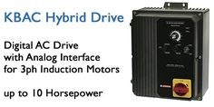 A full line of KB Hybrid and AC Drives