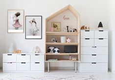 Bold Botanical toddler room with IKEA Nordli cabinets for storage www. - Ikea DIY - The best IKEA hacks all in one place Ikea Kids Chairs, Ikea Kids Desk, Ikea Kids Storage, Ikea Kids Playroom, Toddler Room Organization, Lp Storage, Record Storage, Ikea Toddler Room, Ikea Girls Room