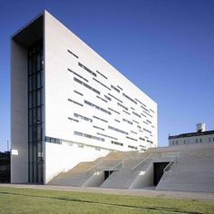 Rectory of Universidade Nova de Lisboa in Lisbon by Aires Mateus