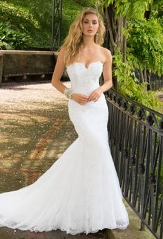 Bella wedding dress and Chani Veil. Low back lace wedding dress ...