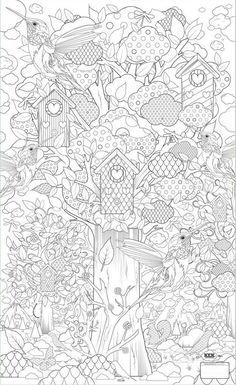 Ďalšie omaľovánky.. Stačí vytlačiť a môžete maľovať… š Adult Coloring Pages, Coloring Pages For Grown Ups, Colouring Pics, Doodle Coloring, Printable Coloring Pages, Coloring Sheets, Coloring Books, Colorful Drawings, Colorful Pictures