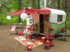 Too Cute Vintage Campers On Pinterest Vintage Campers