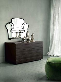 chair mirror