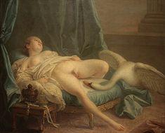 François Boucher Leda and the Swan  c. 1740