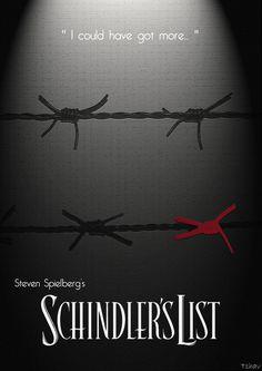 Schindler's List   Poster by Tchav.deviantart
