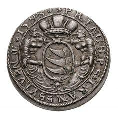 Silver Thaler of Prince Sigismund Báthory, 1593