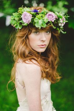 Thinks I HATE- pretentious bitches that wear giant floral crowns thinking they're cute little bohemian fairy nymphs