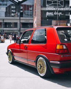 Volkswagen Golf Mk2, Vw Mk1, Gtr Car, Bbs, Golf 1, Drag Cars, Cars And Motorcycles, Cool Cars, Audi
