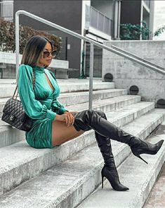 Thigh High Boots, High Heel Boots, Sexy Stiefel, Ariana Grande Photoshoot, Latina Girls, Sexy Boots, Looking For Women, Sexy Outfits, Amazing Women