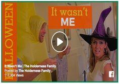holderness family halloween