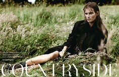 Giedre Dukauskaite for Amica August 2013 by Emma Tempest | The Fashionography