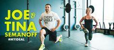 How #MyIdeal Power Couple Joe & Tina Semanoff Stay Fit