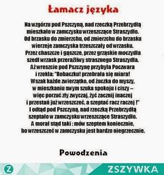 Funny Facts, Funny Memes, Polish Words, Polish Language, Scary Funny, Weekend Humor, Self Development, Really Funny, Good To Know