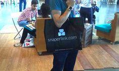 Bolsa para ferias con asa larga  #bolsa #diseño