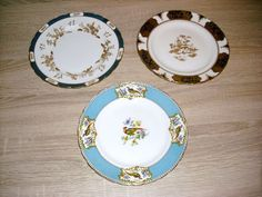 3 Sammelteller Tuscan China Made in England http://www.topmai24.com/category/verschiedenes/