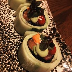 House Special Roll at Kuro.  Click Visit and take a look at our review.