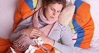 Early Flu symptoms...ugh.