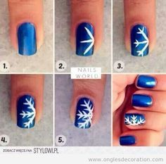 How to diy blue and pink fan brush striped nail art fan brush try this glittering christmas tree nail art ideas with some embellishments and you are set to be the glam doll nail art designs for christmas creates for a publicscrutiny Choice Image