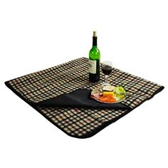 Picnic Blanket with waterproof backing   London