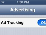 Ad tracking 'blocker' comes to iOS 6 Apple's UDID is soon to be dead to advertisers, replaced by the Advertising Identifier. With it, you'll be able to limit targeted ads in iOS 6, but it won't be fully functional at first.