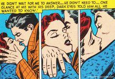 retro Love Comic #vintage #romance #comicbooks