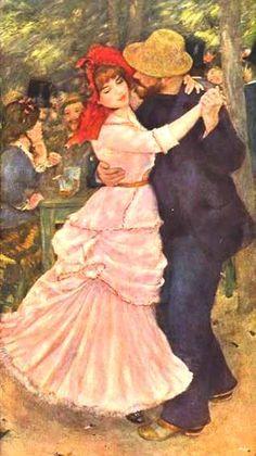 """Kitaplık: André Maurois'den """"İklimler"""" Pierre Auguste Renoir, Claude Monet, August Renoir, Renoir Paintings, Dance Paintings, Post Impressionism, Detail Art, Museum Of Fine Arts, French Artists"""