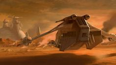 Star Wars II, Attack of the Clones, Ryan Church Concept Art, RyanChurch.com